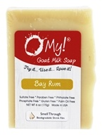 O My! - Goat Milk Soap Bay Rum - 6 oz.