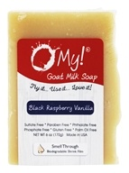 O My! - Goat Milk Soap Black Raspberry Vanilla - 6 oz.