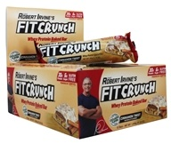 Chef Robert Irvine FortiFX - Fit Crunch Whey Protein Baked Bar Cinnamon Twist - 12 Bars