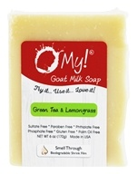 O My! - Goat Milk Soap Green Tea & Lemongrass - 6 oz.