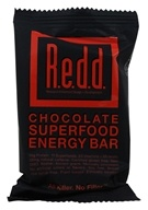 Redd - Chocolat de barre d'énergie de Superfood - 2.2 once.