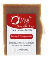 O My! - Goat Milk Soap Peaceful Pomegranate - 6 oz.