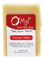 O My! - Goat Milk Soap Summer Melon - 6 oz.