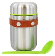 Black+Blum - Box Appetit Stainless Steel Food Flask - 13.5 once.