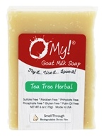 O My! - Goat Milk Soap Tea Tree Herbal - 6 oz.