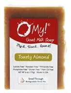 O My! - Goat Milk Soap Toasty Almond - 6 oz.