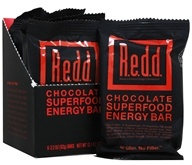 Redd - Chocolat de barre d'énergie de Superfood - 6 Barres