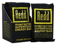 Redd - Superfood Energy Bar Peanut Butter - 6 Bars