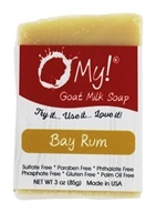 O My! - Mini O!s Goat Milk Soap Bay Rum - 3 oz.