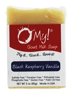 O My! - Mini O!s Goat Milk Soap Black Raspberry Vanilla - 3 oz.
