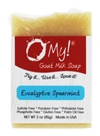 O My! - Mini O!s Goat Milk Soap Eucalyptus Spearmint - 3 oz.