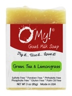 O My! - Mini O!s Goat Milk Soap Green Tea & Lemongrass - 3 oz.