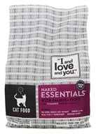 I And Love And You - Naked Essentials Dry Cat Food Salmon and Trout - 3.4 lbs.