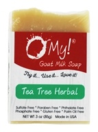 O My! - Mini O!s Goat Milk Soap Tea Tree Herbal - 3 oz.