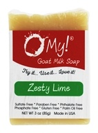 O My! - Mini O!s Goat Milk Soap Zesty Lime - 3 oz.