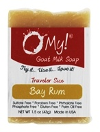 O My! - Traveler Goat Milk Soap Bay Rum - 1.5 oz.