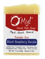 O My! - Traveler Goat Milk Soap Black Raspberry Vanilla - 1.5 oz.