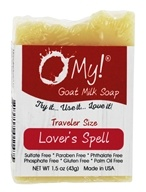 O My! - Traveler Goat Milk Soap Lover's Spell - 1.5 oz.