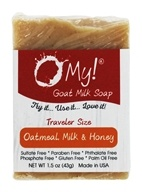 O My! - Traveler Goat Milk Soap Oatmeal, Milk & Honey - 1.5 oz.