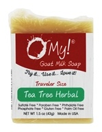 O My! - Traveler Goat Milk Soap Tea Tree Herbal - 1.5 oz.