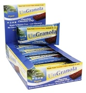 Coconut Secret - Organic UnGranola Bars Box Chocolate Chocolate Chip - 12 Bars
