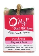 O My! - Goat Milk Soap-on-a-Rope Huntress - 3 oz.