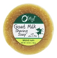O My! - Goat Milk Shaving Soap Island Rum - 5.5 oz.