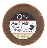 O My! - Goat Milk Shaving Soap Vanilla Dreams - 5.5 oz.