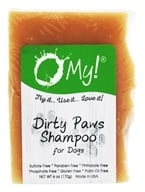 O My! - Dirty Paws Goat Milk Large Dog Shampoo - 6 oz.