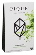 Pique Tea - Organic Green Tea Mint Sencha - 14 Sachet(s)