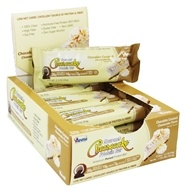 ANSI (Advanced Nutrient Science) - Gourmet Cheesecake Protein Bar Chocolate Coconut Cheesecake - 12 Bars