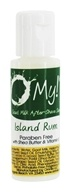 O My! - Goat Milk After-Shave Lotion Sampler Island Rum - 0.5 oz.