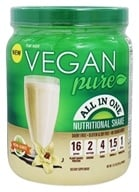 Vegan Pure - All In One Nutritional Shake Vanilla - 13.2 oz.