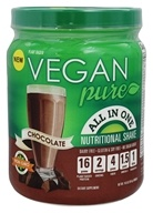 Vegan Pure - All In One Nutritional Shake Chocolate - 14.6 oz.