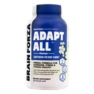 Adapt All Herbal Formula - 150 Vegetarian Capsules Formerly Work Juice by Brain Forza