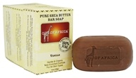 Out Of Africa - Pure Shea Butter Bar Soaps Vanilla - 3 Pack
