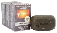 Out Of Africa - Pure Shea Butter Bar Soaps African Black - 3 Pack