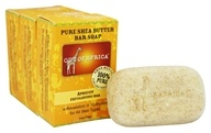 Out Of Africa - Pure Shea Butter Bar Soaps Apricot Exfoliating - 3 Pack