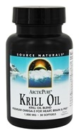 Source Naturals - ArcticPure Krill Oil Blend 1000 mg. - 30 Softgels