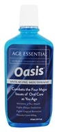 Oasis - Age Essential Anti-Aging Mouthwash Mint - 16 oz.