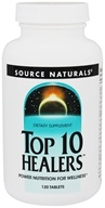 Source Naturals - Top 10 Healers - 120 Tablets