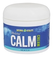 Natural Vitality - Natural Calm Cream - 4 oz.