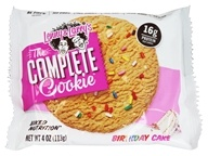 The Complete Cookie Birthday Cake - 4 oz. by Lenny & Larry's