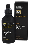 Charlotte's Web - Everyday Plus Pure Hemp Extract Oil 500 Olive Oil - 3.38 oz.