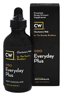 Charlotte's Web - Everyday Plus Pure Hemp Extract Oil 500 Mint Chocolate - 3.38 oz.