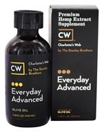 Charlotte's Web - Everyday Advanced Pure Hemp Extract Oil 5000 Olive Oil - 3.38 oz.
