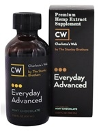 Charlotte's Web - Everyday Advanced Pure Hemp Extract Oil 5000 Mint Chocolate - 3.38 oz.