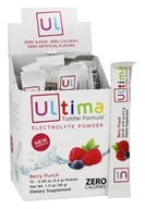 Ultima Health Products - Ultima Electrolyte Powder Toddler Formula Berry Punch - 15 Packet(s)