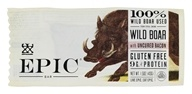 Epic - Wild Boar Bar With Uncured Bacon - 1.5 oz.