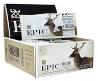 Epic - Venison Bar Sea Salt and Pepper - 12 Bars